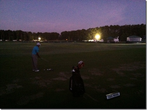 tiger woods 6.30am