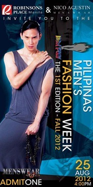 pilipinas men's fashion week aug 25, 2012