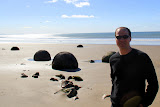 Moeraki Boulders - Enroute to Christchurch, New Zealand