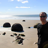 Moeraki Boulders - Enroute to Christchurch, New Zealand