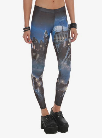 Harry Potter Hogwarts Leggings from Hot Topic