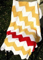 crocheted chevron blanket tutorial[5]