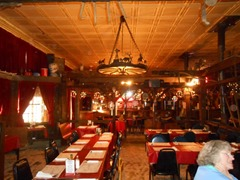 Kirkland's historic Bar and Restaurant in Kirkland, AZ (Notice sawdust on the floor)!