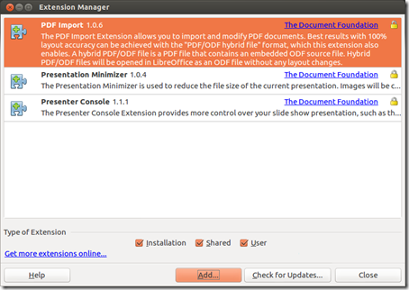 Extension Manager_LibreOffice