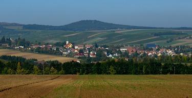 village in Austria on the way to Prague