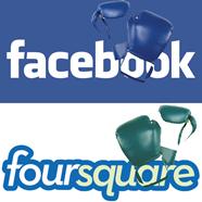 facebook versus forsquare