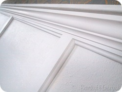Install Crown Molding {Sawdust and Embryos}