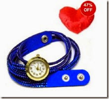 Buy Stylish And Trendy Watch Band at Rs. 499 only, Valentine Gift