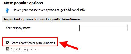 Start with Windows