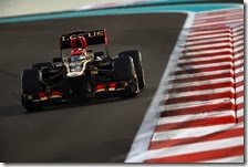 Raikkonen partirà in ultima posizione nel gran premio di Abu Dhabi 2013