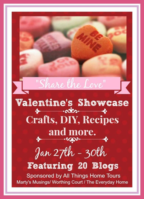 Valentine's Showcase - DIYs, Decor, Crafts, Recipes and more