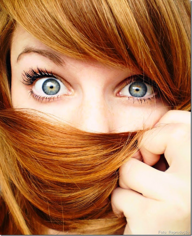 O Grau de Porosidade que fica no cabelo com as Tinturas.