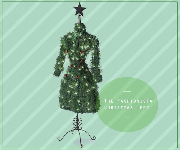rvore-de-Natal-Fashionista-Manequim-Vestido