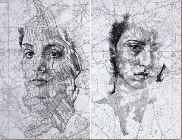 Portraits dessinés sur les cartes par Ed Fairburn (6)