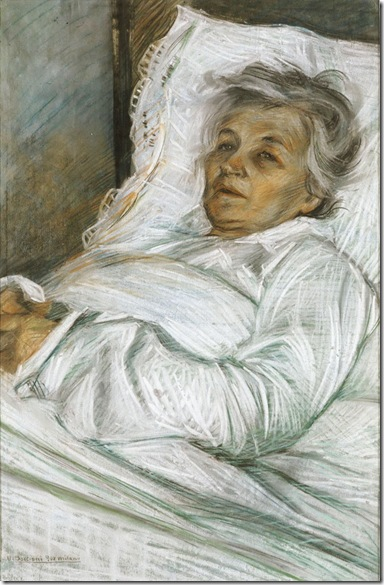 Umberto Boccioni -La madre malata, 1908