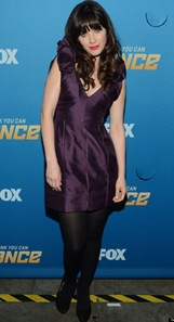 Zooey Deschanel Wore Different Dress