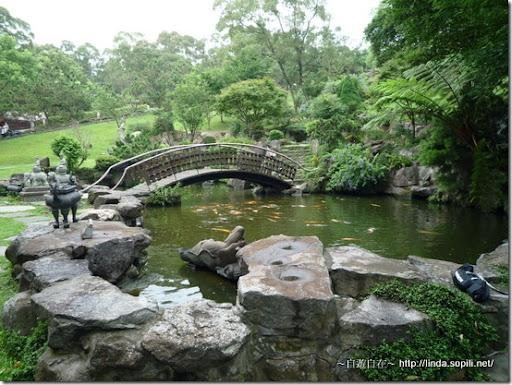 緣道觀音廟-小橋流水