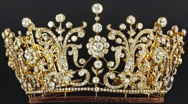 Paltimore Tiara (1870) by Garrards for Lady Florence Paltimore 3