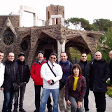 29 de gener de 2012: Colonia Guell 2ª Part