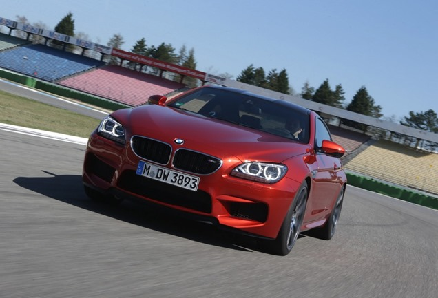 2014 BMW M6 with Competition Package