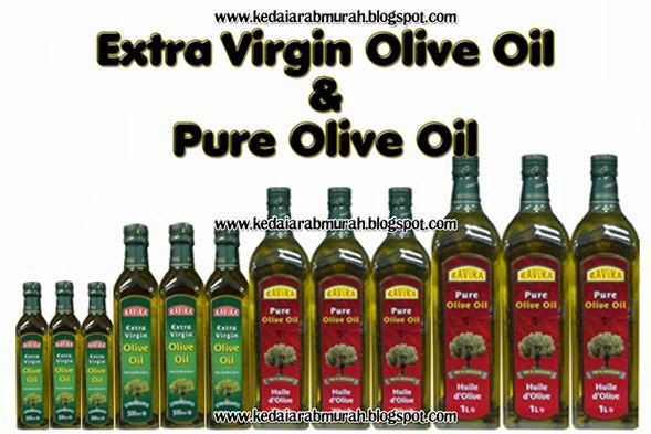 Extra Virgin Olive Oil & Pure Olive Oil