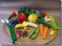 Lego fruits and veggies