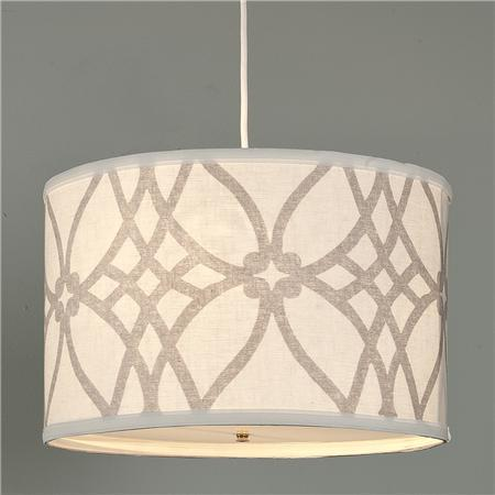 A sophisticated shade is always a wonderful accent piece.