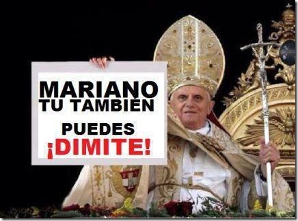 renuncia papa