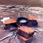 Rösten der Kaffeebohnen © Foto: Doreen Schütze | Outback Africa
