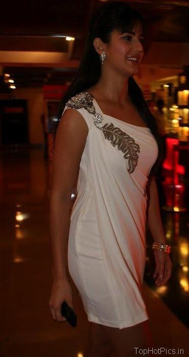Katrina Kaif Hot Pics in Gorgeous White Dress 7