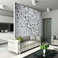 wallpaper yang bagus untuk ruang tamu