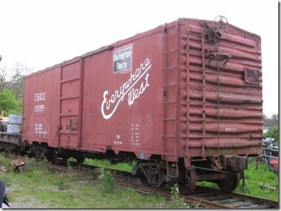 IMG_6447 CB&Q Boxcar #18288 at Chehalis on May 12, 2007