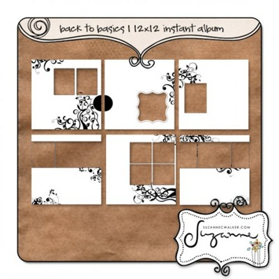 Back To Basics 1 Instant Album - 12x12