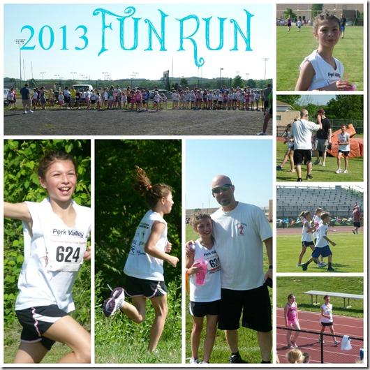 fun run collage