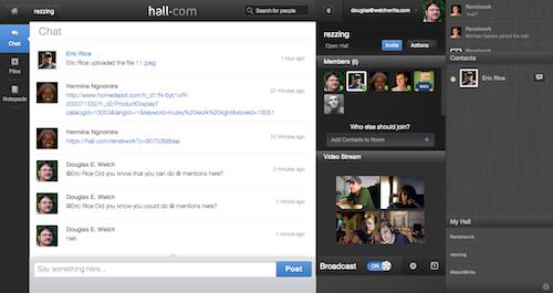 Hall com