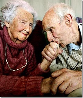 OLD COUPLE -HAS STORY