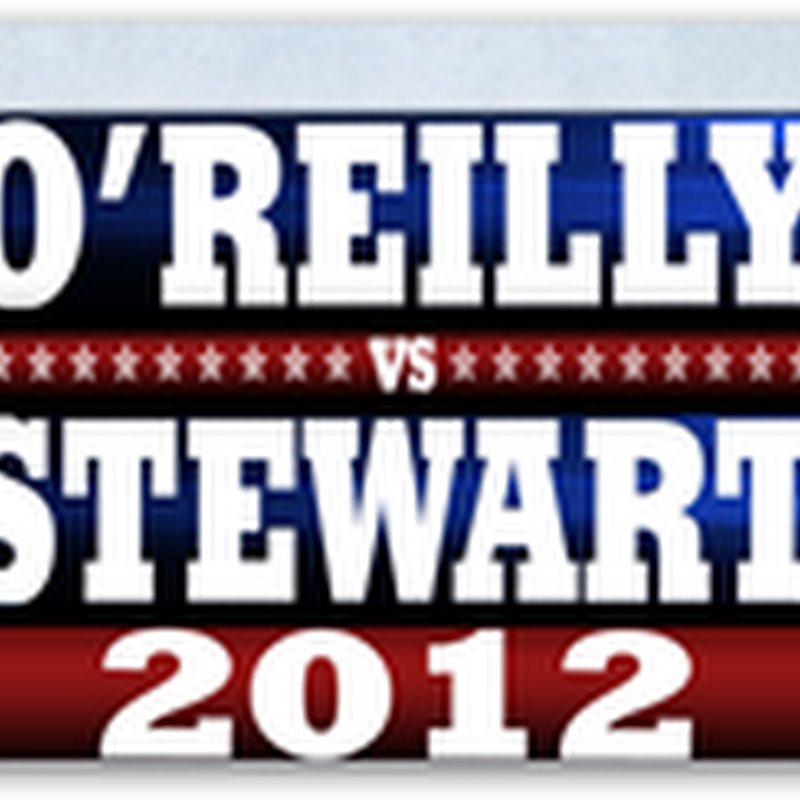 "The Real Debate–Jon Stewart and Bill O'Reilly ""The Rumble in the Air Conditioned Auditorium"" Saturday October 6th at 8 PM Eastern Time"