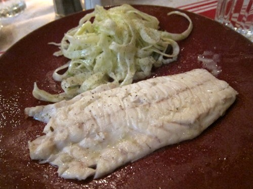 Bar sauvage en croute de sel, fenouil – Wild seabass in salt crust, fennel salad