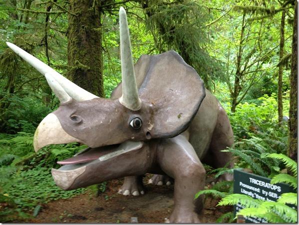 Prehistoric Gardens - Hwy 101 - Oregon