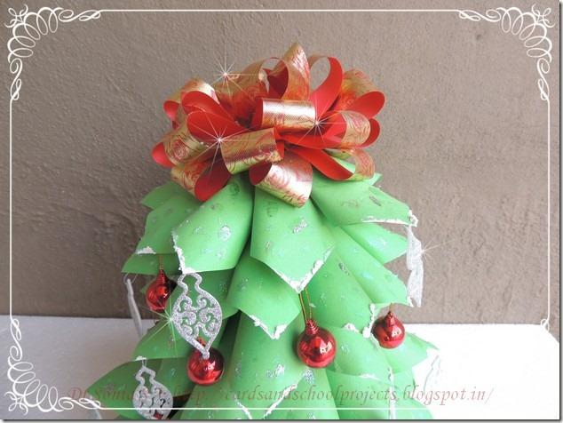 Paper Christmas tree 2