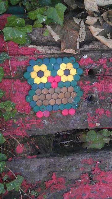 Fineste gadekunstugle fundet på Christiania.