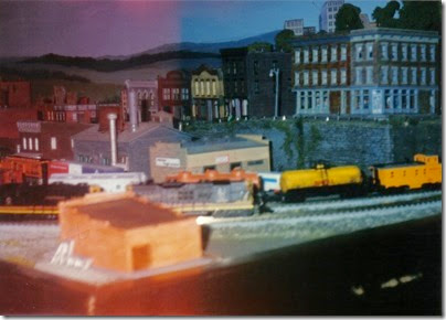 09 N-Scale Layout at the Triangle Mall in November 1995