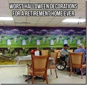 worst halloween decorations