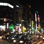 shinjuku by night in Roppongi, Tokyo, Japan