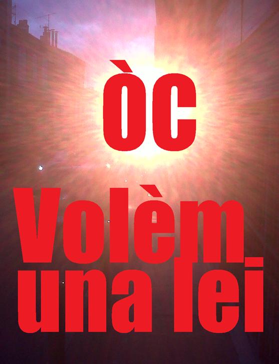 Òc volèm una lei per l'occitan