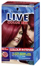 LIVE Color XXL Red Passion