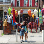 kensington market in Toronto, Ontario, Canada