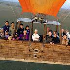 Gruppenbild mit der Ballonkamera © Foto: Elly Kirkman | Balloon Safaris Ltd.
