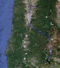 Capture 255 miles