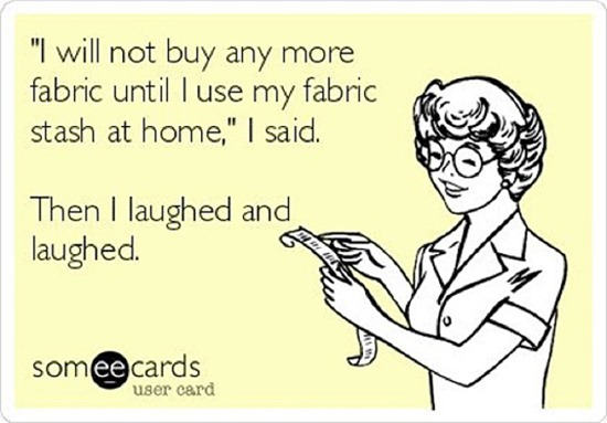 Favorite fabric meme